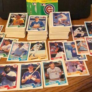 350+ Fleer Baseball Card Lot- Rookies HOFs & Stars